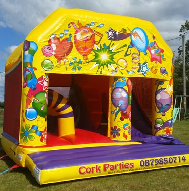 Bouncing Castle with Slide Cobh